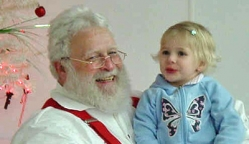 Santa Dennis & Haley, Dec. 2008